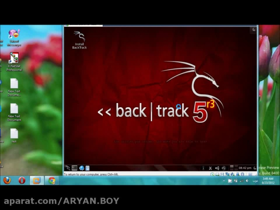 How to Hack WEP key with Backtrack 5 R3 in 1 minutes