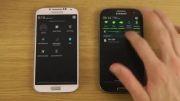 مقایسه Galaxy S4 Android 4.3 با  Galaxy S3