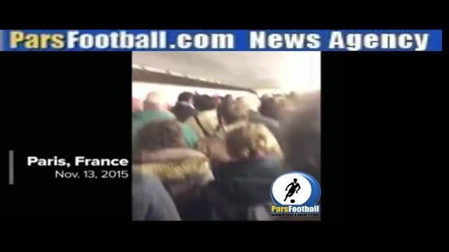 حوادث خونین پاریس | ویدیو؛ خواندن سرود کشور فرانسه