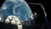 منظره اعجاب انگیز زمین از فضا
