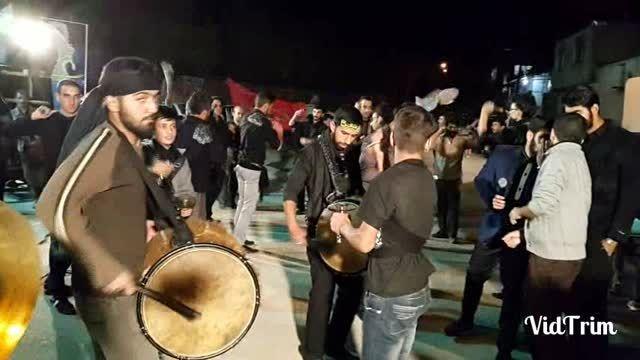 هیئت زنجیرزنان محله امام حسن مجتبی(خمینی آباد) دماوند