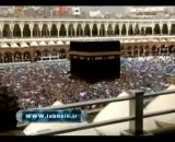 نمایی زیبا از مسجد الحرام