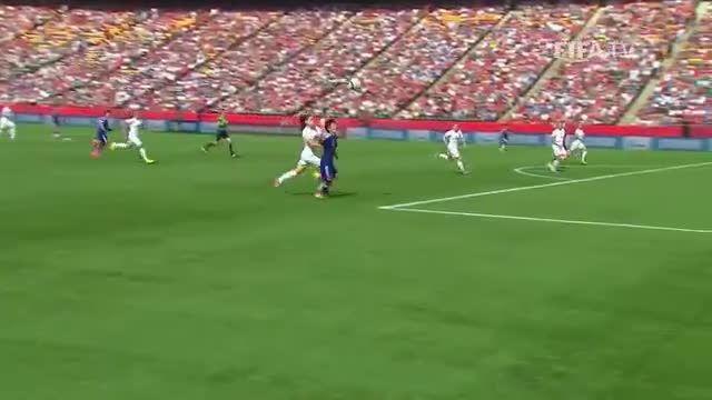 بازی : انگلیس 1 - 2 ژاپن (جام جهانی زنان 2015 کانادا)
