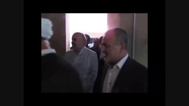 افتتاح موزه دکتر صالحی در قزوین