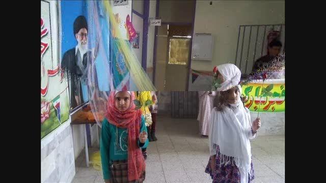 دهه فجر در دبستان میرزا کوچک خان