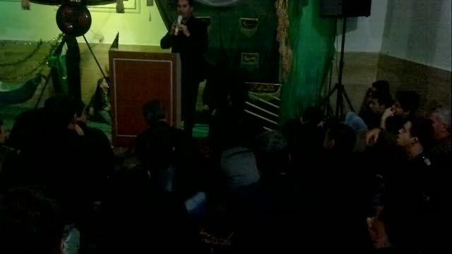 مراسم طشت گذاری هیئت زینب کبری محله توتلوق ماکو 2