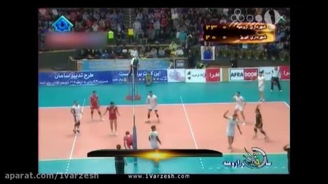 حواشی و نتایج هفته نهم لیگ برتر والیبال ایران