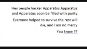 Apparatus and hackers clip for it and its people