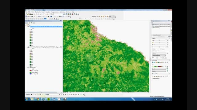 How to do change detection in ArcMap 10