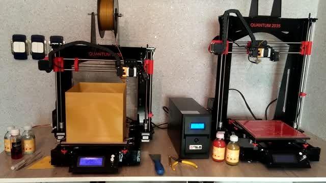 ساخت جعبه با پرینتر سه بعدی QUANTUM 2020