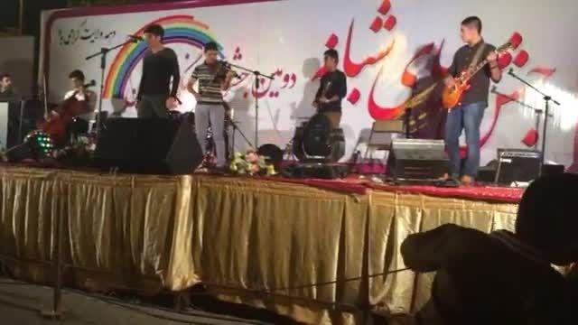 """اجرای زنده آهنگ """"قاب خالی"""" از گروه هارمونیا"""