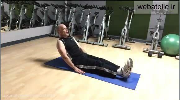 آموزش بدنسازی در خانه، تمرینات عضلات شکم