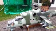 هلیکوپتر میل 24 کنترلی،نهایت زیبایی و دقت