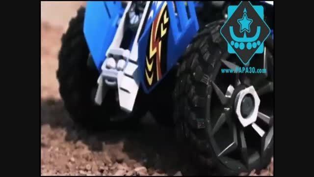 ماشین کنترلی باگی چهار چرخ ، سرعتی و قدرتی