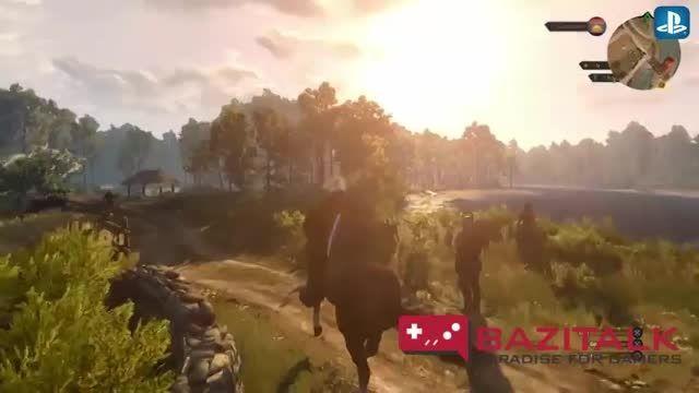 تریلر جدید گیم پلی عنوان The Witcher 3 قسمت دوم