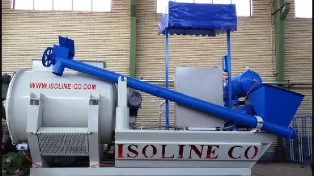 دستگاه سیار فوم بتن ساخت شرکت ایزولاین