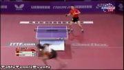 بازی تیمو بول و مالونگ در پاریس(timo boll vs ma long)