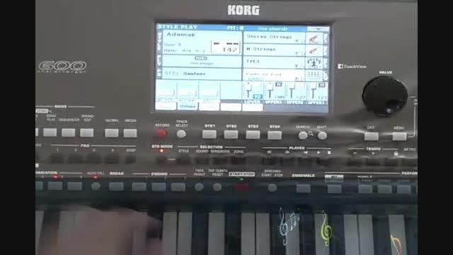 آموزش رکورد آکورد با Chord Sequencer در ارگ Pa600