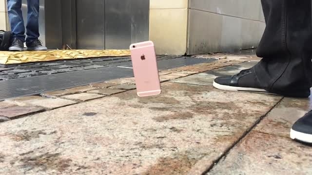 آزمایش سقوط آیفون 6S و 6S پلاس اپل