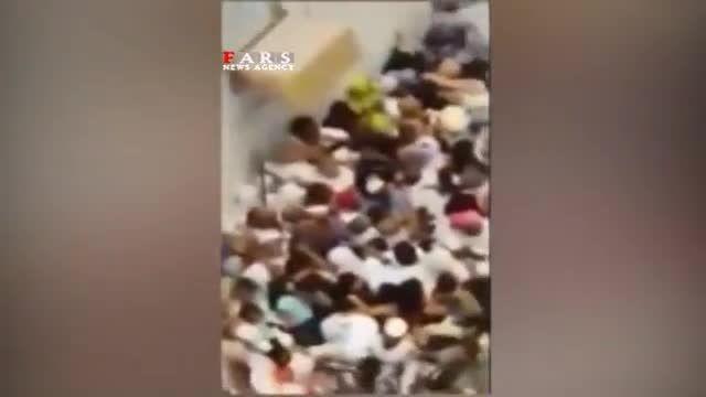 فاجعه منا: حجاج  از سر و کول هم بالا میروند