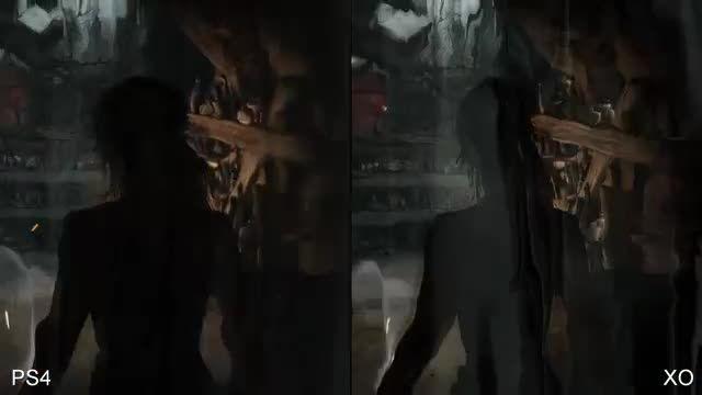 Lara Croft X-box One Vs Ps4
