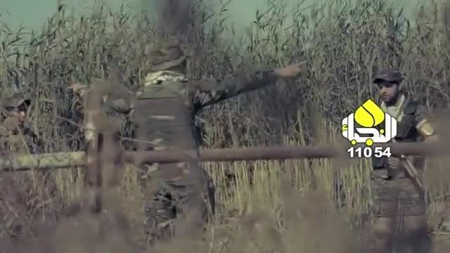 سرود حماسی مجاهدان عراقی در تجلیل از سردار  سلیمانی