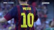 بارسلونا vs لوانته | 5 - 0 | گل مسی