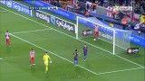 گل دوم بارسلونا به اتلتیکو مادرد ( گل به خودی )