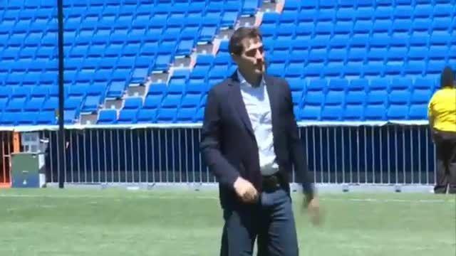 لحظات تلخ وداع ایکر کاسیاس با هواداران رئال مادرید