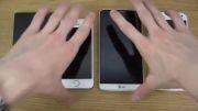 تست سرعت s5Nokia Lumia 930 vs. iPhone 5S vs. LG G3 vs.