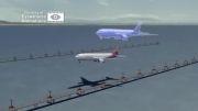 انیمیشن حادثه بویینگ 777 ایشیانا در سانفرانسیسکو