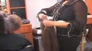 آموزش استفاده اکستنشن در بافت مو!!