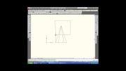 برخورد صفحات خاص با هرم مطابق شکل و ساخت آن