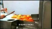 میز بازرسی سبزیجات ریشه ای