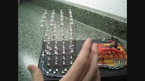 نحوه عملکرد مکعب ال ای دی و روش ساخت