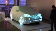 تبلیغ شرکت BMW نورپردازی روی ماشین تغییر با ریتم آهنگ زیبا