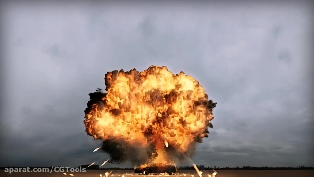 Creating a Gasoline Explosion in Maya