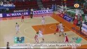 بازی های آسیایی(بسكتبال - ایران 77-79 كره جنوبی)