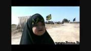 کوچکترین میزبان زائران اربعین حسینی