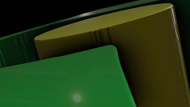 لوگوی سه بعدی شبکه نور استان قم