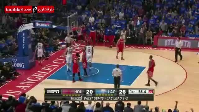 بسکتبال NBA- لس آنجلس کلیپرز 107-119 هیوستن راکتس