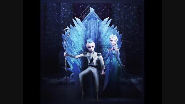 Queen Elsa And King Jack Frost
