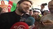 استقبال دیدنی از سامی یوسف در فرودگاه ترکیه