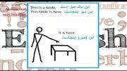 آموزش زبان انگلیسی برای مبتدیان - درس 4