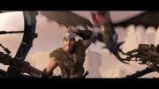 انیمیشن مربی اژدها 2 -HD-دوبله ی گلوری-پارت پنجم