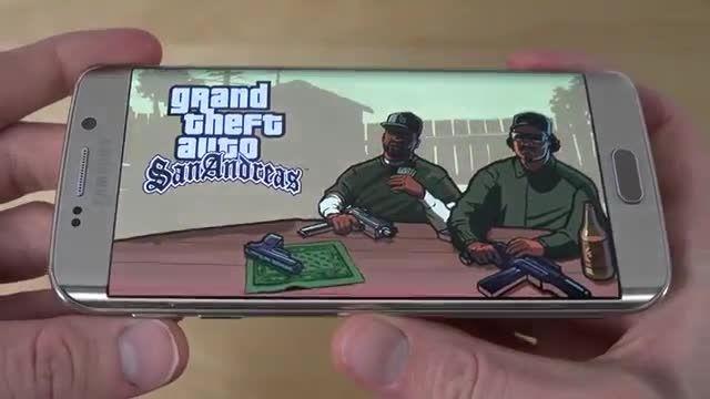 Samsung Galaxy S6 Edge_GTA San Andreas Gameplay Review