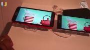 مقایسه صفحه نماش Xperia Z2 و Note 3