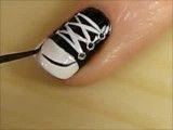 طراحی ناخن به شکل کفش!!!!