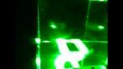 حکاکی لیزری سه بعدی داخل کریستال