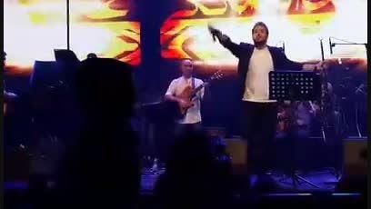 کلیپ یهویی علی عبدالمالکی اجرا شده در کنسرت 24 خرداد
